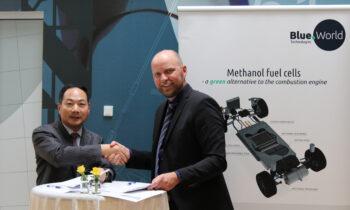 先导智能与丹麦燃料电池研发与生产公司 Blue World Technologies签署战略合作协议