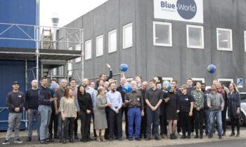 Blue World Technologies(蓝界科技)庆祝成立一周年