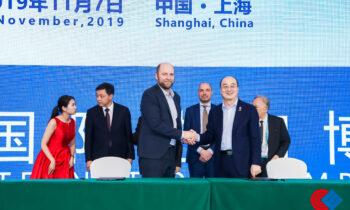 Blue World Technologies(蓝界科技)与中国智能电动车企业爱驰汽车签署战略合作协议